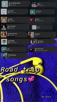 Music Mood, Mood Songs, Music Lyrics, Music Songs, Road Trip Songs, Heartbreak Songs, Playlist Names Ideas, Travel Songs, Depressing Songs