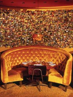 El Vez Booths at 121 S 13th St. in Philadelphia. http://www.elvezrestaurant.com/