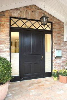 The heat stays in the house. Modernization of the front door and windows saves energy and money. A lot of energy is often lost even over old front doors – modernization therefore pays for itself. Photo: djd / record-fenst … Source by norsche Wooden Door Entrance, Exterior Door Designs, Farmhouse Remodel, House, Country Home Exteriors, Entrance Doors, Front Door, Modern Exterior Doors, Doors