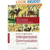 """Elm Publisher Leila Monaghan's co-edited collection """"A Cultural Approach to Interpersonal Communication"""""""