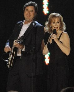 Reba McEntire and Vince Gill's official music video for their number one hit 'The Heart Won't Lie'