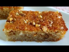 Καρυδιά Δαμασκός συνταγή επιδόρπιο - YouTube Sweet Recipes, Cake Recipes, Dessert Recipes, Sweet Youtube, Arabic Food, Food Cakes, Deli, French Toast, Deserts