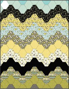 """Remember the old """"bargello"""" needlepoint patterns from the 70s?"""