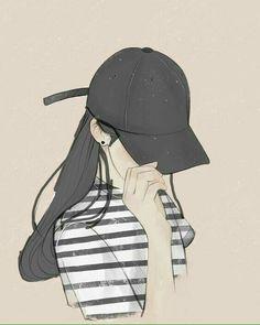 Learn To Draw Manga - Drawing On Demand Cool Anime Girl, Pretty Anime Girl, Beautiful Anime Girl, Anime Art Girl, Cartoon Kunst, Cartoon Art, Aesthetic Art, Aesthetic Anime, Applis Photo