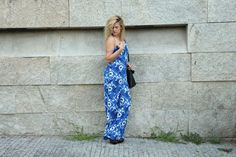 Coco and Jeans: Outfit: Blue Floral