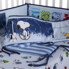 Bedtime Originals Hip Hop Snoopy Bumper