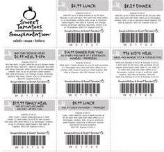 Sweet Tomatoes & Souplantation coupons valid through 5/24/2012. To view more visit http://www.restaurantcouponsfinder.com