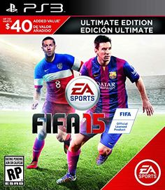 Black Friday 2014 FIFA 15 Ultimate Team Edition - PlayStation 4 from Electronic Arts Cyber Monday. Black Friday specials on the season most-wanted Christmas gifts. Newest Playstation, Playstation Games, Ps4 Games, Xbox 360, Fifa 15, Dragon Quest, Nintendo 3ds, Lps, Adidas All Star