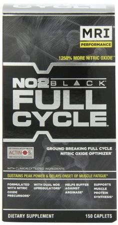 MRI NO2 Black Full Cycle Nutritional-Supplement, 150 Count - http://www.gainmusclefastnow.com/mri-no2-black-full-cycle-nutritional-supplement-150-count/