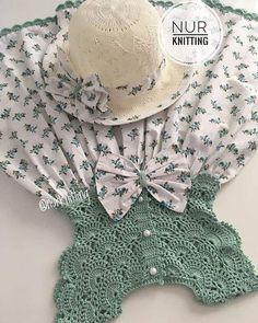 Yeni model, yeni renk, yeni kumaş 🌺🌺🌺🌺 Hadi bakalım nasıl olacak … New model, new color, new fabric 🌺🌺🌺🌺 Let's see how it will be 🤗👗. 💌 You can write dm (message) for information and order💌. Crochet Dress Girl, Crochet Girls, Crochet Baby Clothes, Crochet For Kids, Baby Clothes Patterns, Baby Knitting Patterns, Baby Patterns, Little Girl Dresses, Girls Dresses
