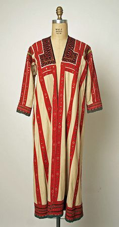 Robe Date: 1800–1939 Culture: Russian Medium: linen, cotton