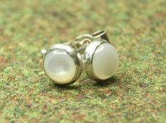 Check out this item in my Etsy shop https://www.etsy.com/uk/listing/227555832/mother-of-pearl-sterling-silver-stud