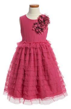 Pippa & Julie Ruffle Tulle Dress (Little Girls & Big Girls) | Nordstrom $60.87