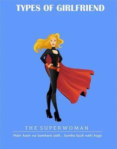The Superwoman Types of #girlfriend  #GFRIEND #gftweet #factsnotfear #fact
