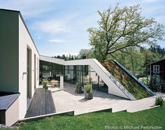 Clean and Functional Design: Villa UH1 by RB Architects, Stockholm       Building and Landscape as one