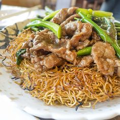 Beef Pan Fried Noodles