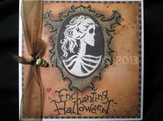 Skeleton Cameo - Halloween Greeting Card from an original hand-drawn design by HeidiMadeThis on Etsy, © Heidi Made This! *This item can ship worldwide Greeting Cards Handmade, Handmade Greetings, Handmade Gifts, Grim Reaper, Cursed Child Book, Perfect Party, Sweet 16, Party Invitations, How To Draw Hands