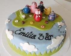Barbapapa cake!