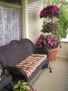 Porch Furniture Porches And Furniture On Pinterest