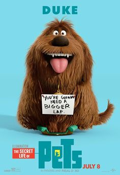 New trailers and posters from the movie & The Secret Life of Animals& - Cinema BH 'Pets – The Secret Life of Pets, have you ever wondered what . Funny Animals, Cute Animals, Pets Movie, Pet News, Secret Life Of Pets, Lap Dogs, Pet Life, Animal Party, Cartoons