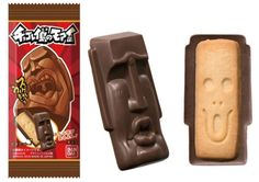 Japan's newest chocolate treat is inspired by the Easter Island Moai Check more at http://goodnewsanime.com/2016/09/japans-newest-chocolate-treat-is-inspired-by-the-easter-island-moai.html