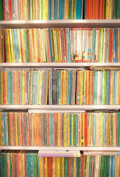 Rob Ryan's Books ~ via mahala