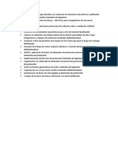 Matriz de Jerarquizacion Con Medidas de Prevencion y Control Frente a Un Peligro Riesgo | Virus | Factores humanos y ergonomía Control, World, Factors, Social Networks, Reading