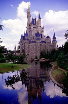 cinderella's castle. so cool:)