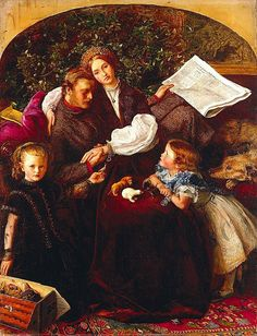 Johne Everett Millais, Peace concluded. Oli sobre tela, 120 x 91 cm. Minneapolis Institute of Art.