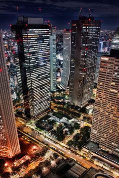 https://flic.kr/p/A5MevB | X-Street - X字道路 | この辺りは道路が上と下を交差してるので思っている方向に行けない時が多々あります。  SIGMA DP1 Merrill  #cooljapan #100tokyo #shinjyuku #architecture #東京都庁 #東京夜間写真部 #直置きブラケット