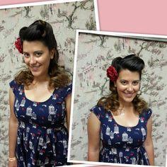Hairstyle by Stephanie Strowbridge