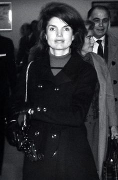 Jackie Onassis At JFK Airport, March 1, 1970