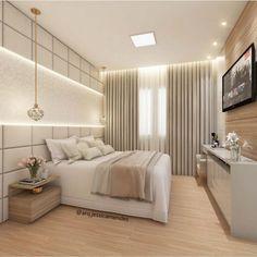 Trendy Home Bedroom Kids Ceilings Bedroom Tv Wall, Room Design Bedroom, Luxury Bedroom Design, Girl Bedroom Designs, Home Decor Bedroom, Home Interior Design, Bedroom Kids, Modern Master Bedroom, Suites