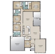 The Clarence design addresses living and entertaining ease for growing families with a great use of space. A large Master suite, 3 additional Bedrooms, Study open plan Kitchen/Meals/Family, Alfresco and separate Living means there is enough space for everyone. An exceptional home.