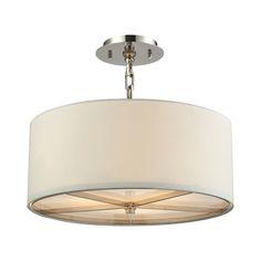 HALL. 31650/3 Selma 3 light pendant. 16H x 17W