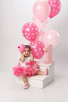 Items similar to Custom Couture Pinkilicious Cupcake Headband on Etsy 1st Birthday Outfit Girl, 1st Birthday Photoshoot, 1st Birthday Party For Girls, 1st Birthday Cake Smash, Birthday Tutu, First Birthday Photography, Baby Girl Photography, Birthday Girl Pictures, First Birthday Photos