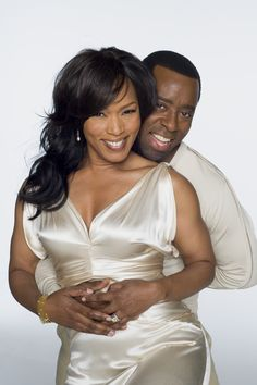 Angela Bassett and husband Courtney B. Vance