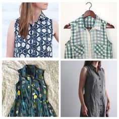 So inspired by all the beautiful #aldershirtdress pics showing up lately. I know what I'm cutting next! Also Alder printed patterns are back in stock today!