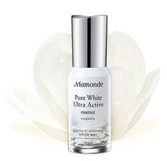Amore Pacific MAMONDE Pure White Ultra Active Essence 40ml, Whitening Essence #MAMONDE