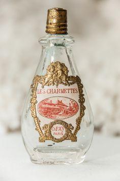 Petite Antique Perfume Bottle