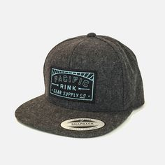 Pacific Sunset Woolly Snapack // Black and Blue Patch