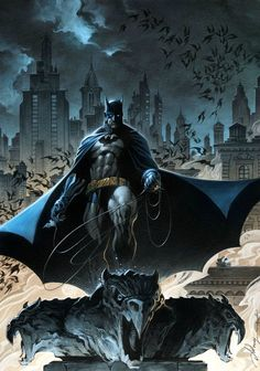 man of gotham Heros Comics, Dc Comics Art, Dc Heroes, Batgirl, Nightwing, Catwoman, Comic Book Characters, Comic Books Art, Comic Art