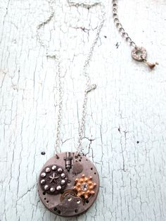 Delicate Necklace Ecofriendly by lesliejanson on Etsy