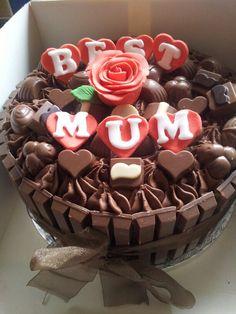 Mothers day cake! www.mycakedecorating.com