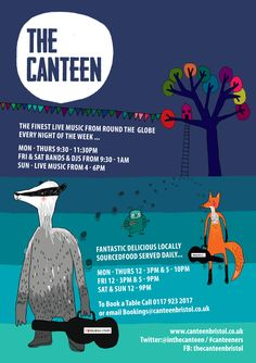 Cover artwork for The Canteen, by Hannah Broadway