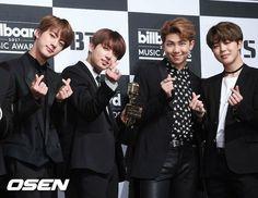 Jin, Jungkook, Namjoon & Jimin /// BTS /// Billboards in which they slayed (♡●♡) xx