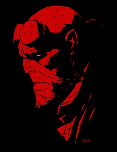 "He is big. He is red. And he doesn't give a damn about what others expect him to be like. He goes his own way and choses his own destiny. (Mike Mignola / ""Hellboy"" Comics)"
