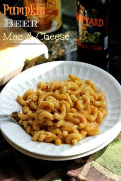 The Beer Czar: Cooking with beer - Pumpkin Beer Mac and Cheese