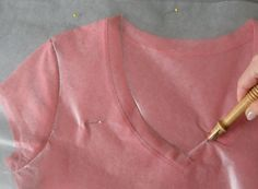 Copycat Clothes: How to Make a Pattern From A Piece of Clothing