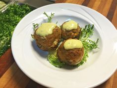 Crab Stuffed Mushrooms...Baked to a golden brown and topped with Béarnaise Sauce  www.twelveoaksbrownsville.com - (724) 785-3200